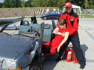 Kurs ratownictwa drogowego