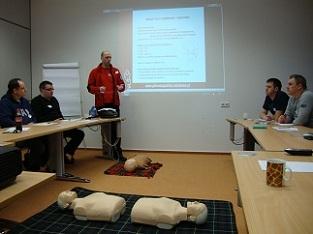 Kurs podstawowy pierwszej pomocy